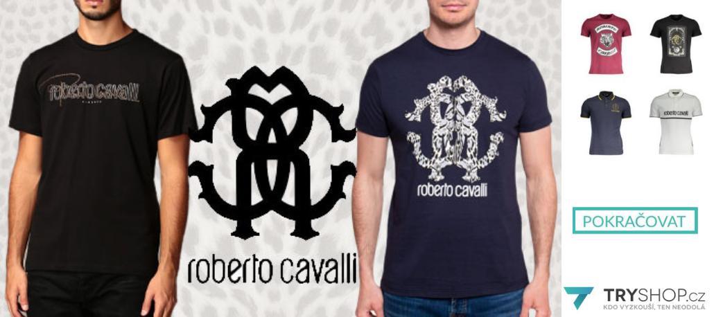 Roberto_Cavalli_Pánská trička