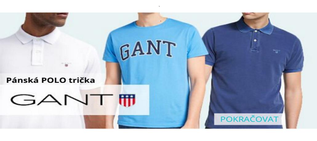 GANT pánská POLO trička